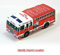 993726729-819 - Foldable Die-Cut Fire Truck (Full Color Digital) - thumbnail