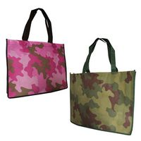 994569719-819 - Non Woven Camo Tote Bag (Blank) - thumbnail