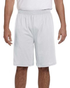 123492606-132 - Augusta Adult Longer-Length Jersey Short - thumbnail
