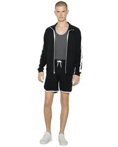 165810360-132 - American Apparel Unisex Interlock Shorts - thumbnail
