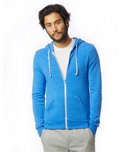 513492137-132 - Alternative Men's Rocky Eco-Fleece Zip Hoodie - thumbnail