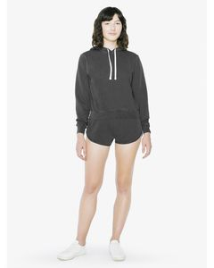 565810361-132 - American Apparel Ladies' French Terry Garment-Dyed Short - thumbnail