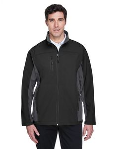 594070455-132 - Devon and Jones Men's Soft Shell Colorblock Jacket - thumbnail