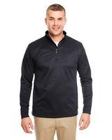 925370638-132 - ULTRACLUB Adult Cool & Dry Sport Quarter-Zip Pullover Fleece - thumbnail