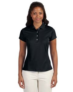 954353116-132 - Adidas Ladies' climalite Texture Solid Polo - thumbnail