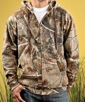 955385796-132 - CODE V Men's Realtree Camo Zip Hoodie - thumbnail