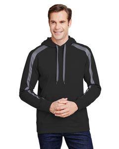 975919332-132 - A-4 Men's Spartan Tech-Fleece Color Block Hooded Sweatshirt - thumbnail