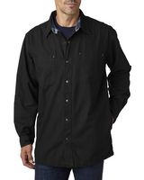 995368644-132 - BACKPACKER Men's Canvas Shirt Jacket with Flannel Lining - thumbnail