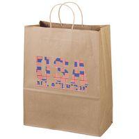 126487258-185 - Eco Citation Kraft-Brown Shopper Bag (Brilliance- Special Finish) - thumbnail