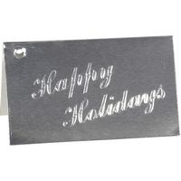 556437769-185 - Happy Holidays Embossed Gift Card - thumbnail