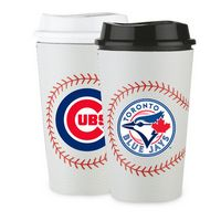 315369576-202 - 16 Oz. Single Wall Tumbler W/Baseball Sleeve - thumbnail
