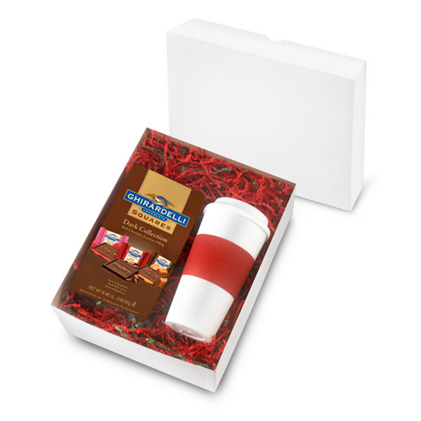 524939880-202 - 16 Oz. Brazilian Tumbler with 4.57 Oz. Bag of Ghirardelli chocolate Squares - thumbnail