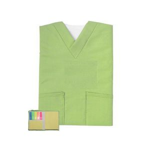 """543418289-202 - Mini Scrubs Sticky Notes book with note pad 3.5"""" x 4.5""""h - thumbnail"""