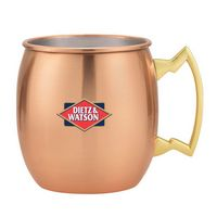 935082518-202 - Dutch Mule Four Mug Gift Set w/Leatherette Tray - thumbnail