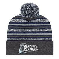 726048583-812 - Striped Knit Cap w/Cuff - thumbnail