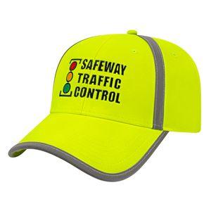 934546627-812 - High Visibility Cap w/Reflective Fabric - thumbnail