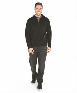106079333-141 - Adult Seaport Quarter Zip Hoodie - thumbnail