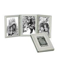 133730464-114 - Mondrian Trio Tri Fold Mini Photo Frame - thumbnail
