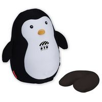 174421063-114 - Kikkerland® Zip & Flip Penguin Travel Pillow - thumbnail