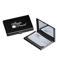 194585755-114 - Tres Chic Business Card Case w/ Mirror - thumbnail