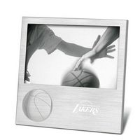 "732344869-114 - Sport Pix 4""x6"" Photo Frame w/ Embossed Basketball - thumbnail"