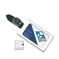 741728857-114 - Road Trip Luggage Tag w/ Leather Strap - thumbnail