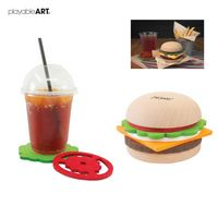 956172845-114 - Hamburger Coaster - thumbnail