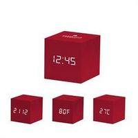 985606160-114 - MoMA Color Cube Clock - Red - thumbnail