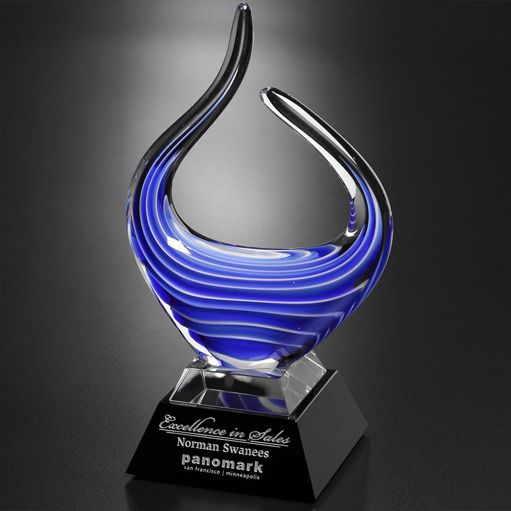 """103386033-133 - Blue Reflections Award 10-3/4"""" - thumbnail"""