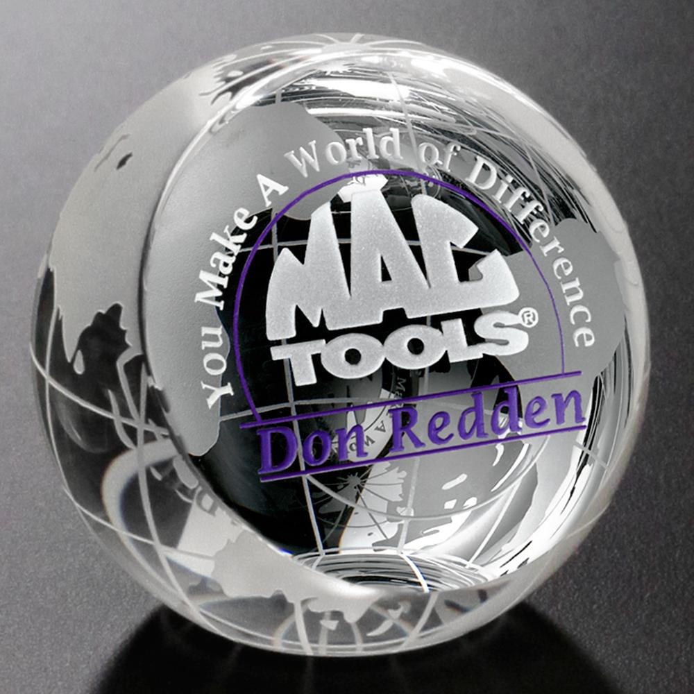 "131336545-133 - Clipped Globe 2-3/8"" Dia. - thumbnail"