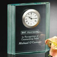 "191124501-133 - Jade Wave Clock 4-1/2"" - thumbnail"