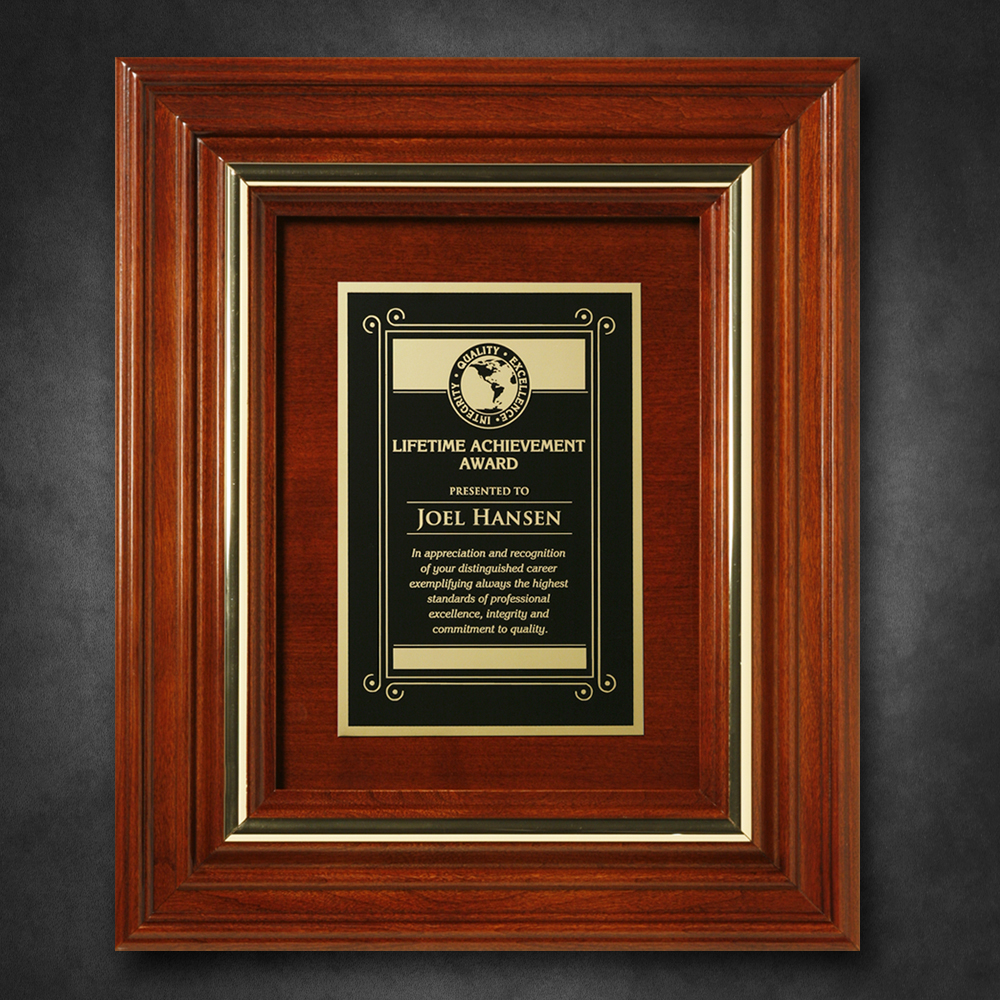 "512865260-133 - Americana Plaque 11-3/4"" x 9-3/4"" with Wood Insert - thumbnail"