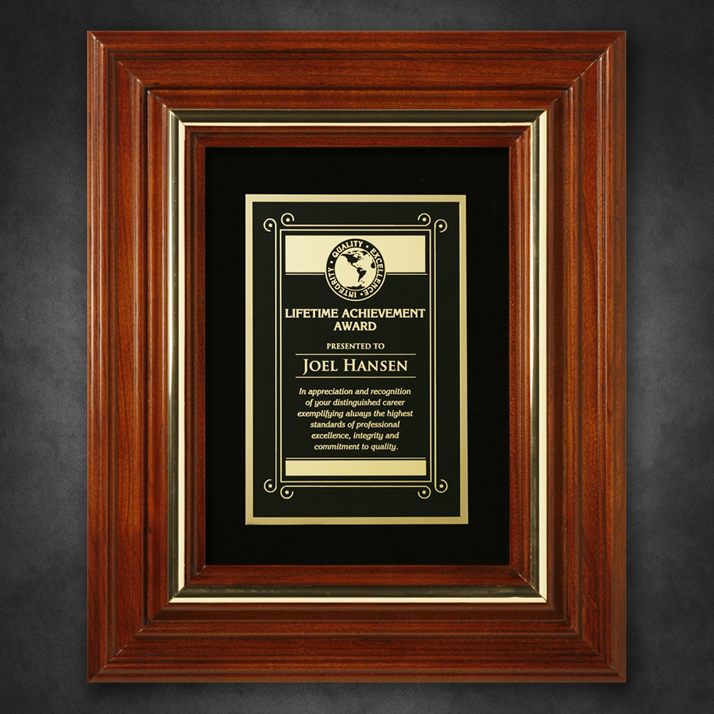 "552865240-133 - Americana Plaque with Velour 11-3/4"" x 9-3/4"" - thumbnail"