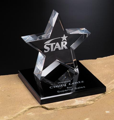 "701123382-133 - Tapered Star on Base 5"" - thumbnail"