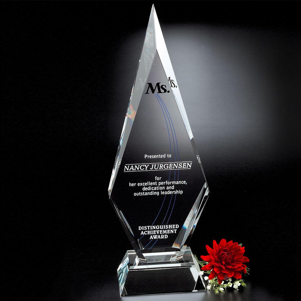 """781336391-133 - Solitaire Award 16-1/2"""" - thumbnail"""