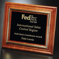 """942556099-133 - Americana Plaque with Black Glass 13-1/2"""" x 11-1/2"""" - thumbnail"""
