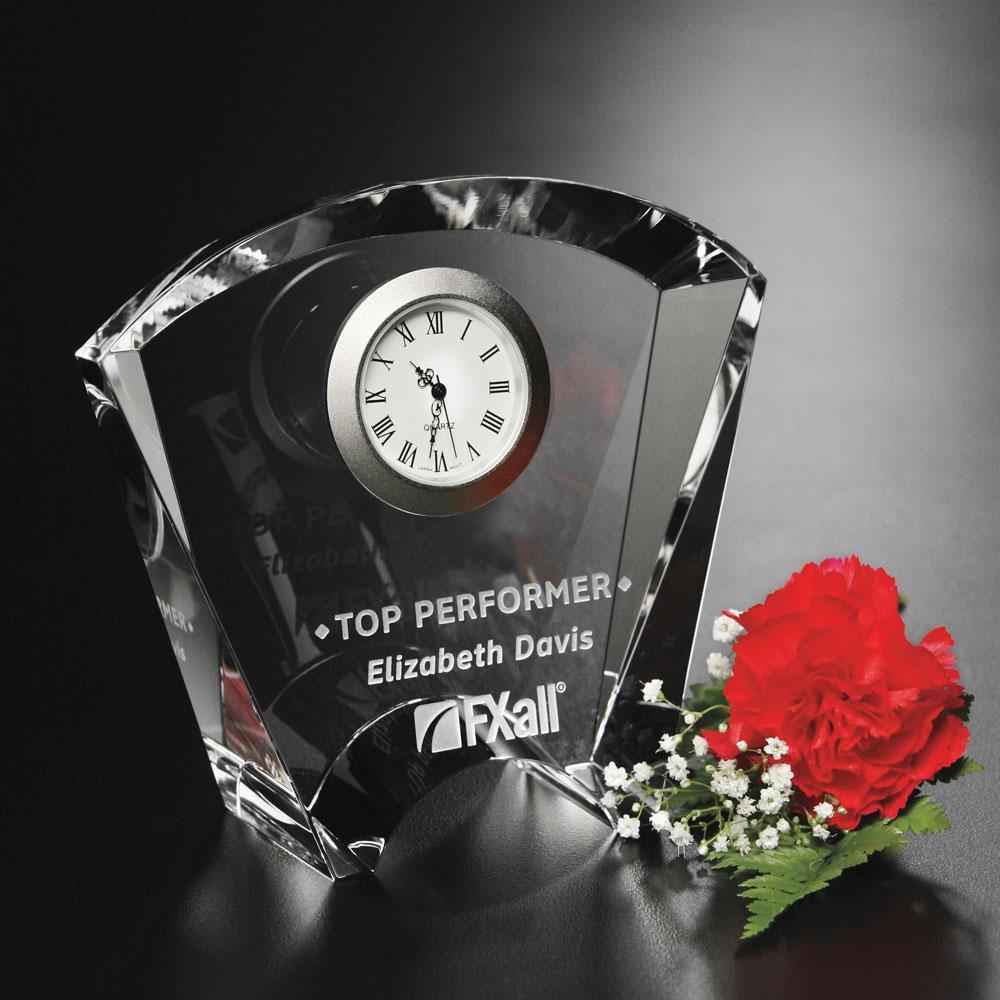 """953388263-133 - Fanfare Clock 4-1/2"""" - thumbnail"""