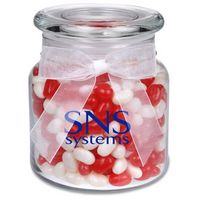 115554603-105 - 22 Oz. Glass Jar w/ Gourmet Jelly Beans - thumbnail