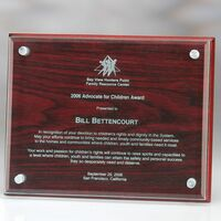 144090006-105 - Souderton Plaque with Wooden Back - thumbnail