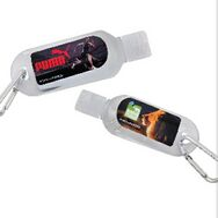 173992205-105 - 1 Oz. Hand Sanitizer Bottle w/Carabiner - thumbnail