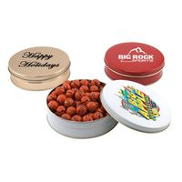 174523236-105 - Gift Tin w/Chocolate Basketballs - thumbnail
