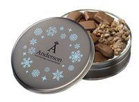 175554623-105 - Glad Tidings Tin w/ English Butter Toffee & Clodhoppers (Custom Tin) - thumbnail