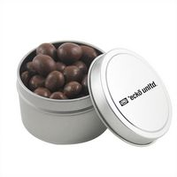 184520934-105 - Round Tin w/Chocolate Peanuts - thumbnail