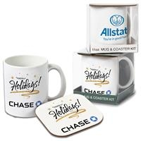 305774114-105 - Mug W/ Hard Coaster Gift Set - thumbnail