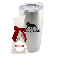 305774416-105 - 20 Oz. Stainless Steel Tumbler W/Imprinted Chocolate Buttons - thumbnail