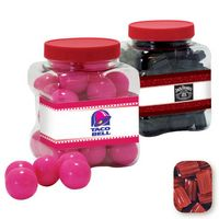 315554408-105 - Junior Grip Tub Resealable Container Filled w/ Red Licorice Bites - thumbnail