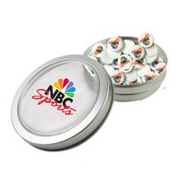 325555265-105 - Small Top View Tin - Imprinted Round Mints - thumbnail