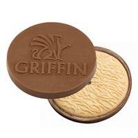 345554512-105 - Round Custom Molded Chocolate Cookie - thumbnail