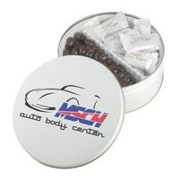 345554710-105 - Collector Tins w/English Butter Toffee & Dark Chocolate Almonds (19 Oz.) - thumbnail