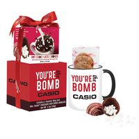 356468357-105 - Mrs. Fields Mug & Cookies With Hot Chocolate Bomb Gift Set - thumbnail